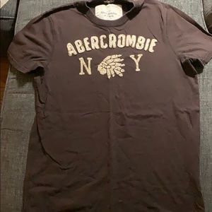 Brown Abercrombie shirt